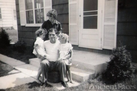 Sharon, Rosie, Betty, and Alvin Snavely