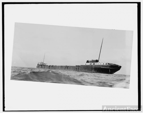 [S.S. M.W. [i.e. Howard M.] Hanna on reef (near Pt....