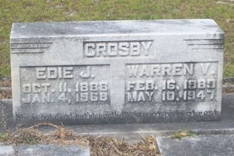 Warren Vasco Crosby and Edith J. Dyess