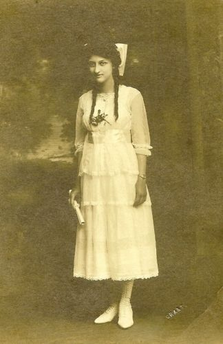 A photo of Gertrude (Mueller) Sneed