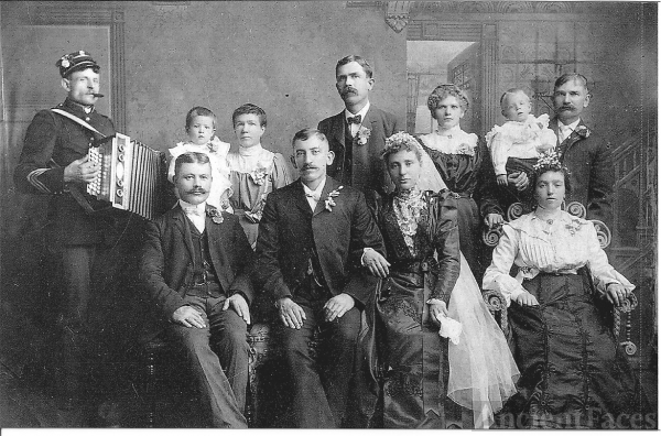 Anton & Mary Dragovan Slanc 1904 wedding
