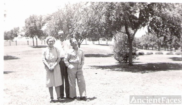 My Great Uncle, Oscar Brownlow, and Family at Park