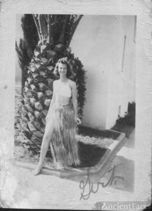 Woman in Hawaii