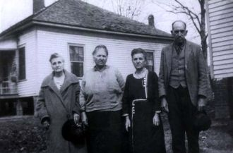 Marthy Jane Glidewell, Mary Champion, Betty and Macon Shell