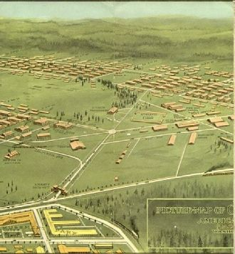 Picture Map of Camp Lewis, Page 2