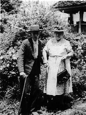 Charles 'Cap' Green Mincey and Nancy Jane Higdon