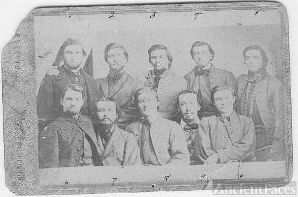 Captured Civil War Raiders