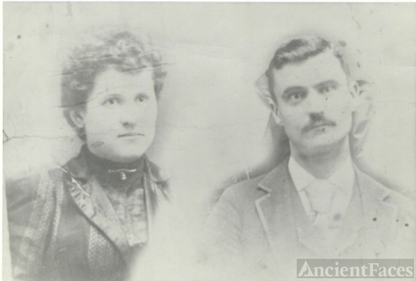 Joseph and wife Florence (Stevens)