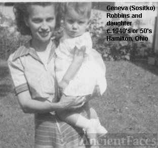 Geneva (Sositko) Robbins and daughter