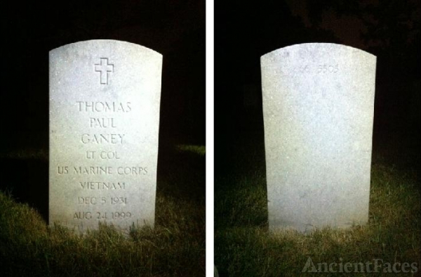 Thomas P Ganey's Headstone