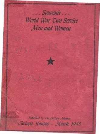 ted stafford's Army Book, Kansas
