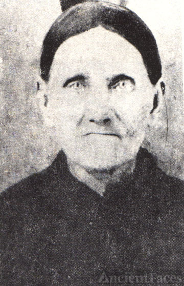 SARAH SALLY ANN CARMICHAEL VAUGHT-MY GR=GRANDMOTHER-BORN 1820 IN PULASKI CO., KY AND DIED MAY 7, 1893 IN PULASKI CO., KY