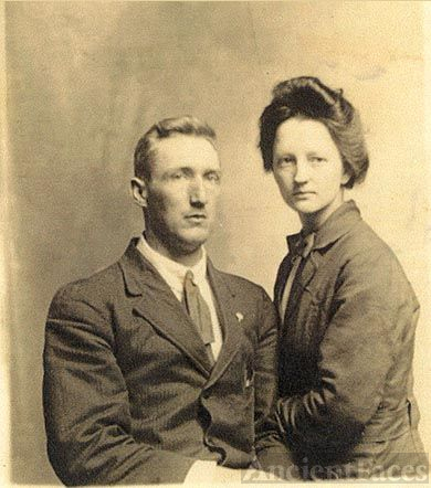 Granpa Holcomb & Granny Rose Bishop