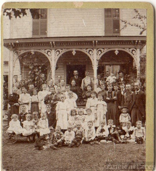 Very old Hibbard Family Reunion