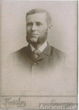 A Younger Hugh Sheeks, 1850-1934, Son of George Canote Sheeks & Artamoia Crawford