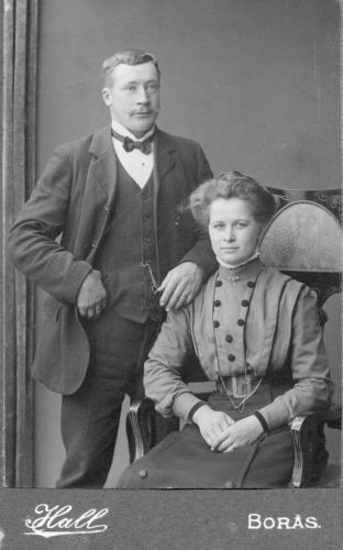 Unknown Swedish Couple, 1800's