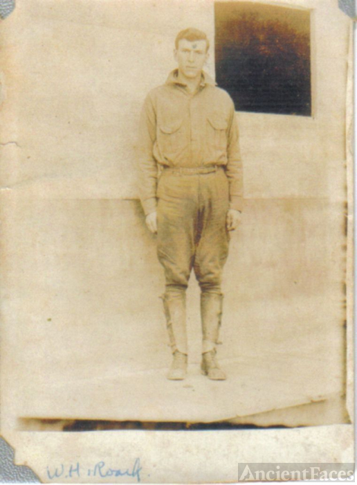 William (Hagar Bill) Roark in WW1