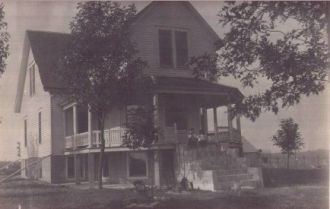 John Willard Tucker home, 1910 Missouri