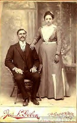 Tom & Mary (Green) Hollis, Texas 1905