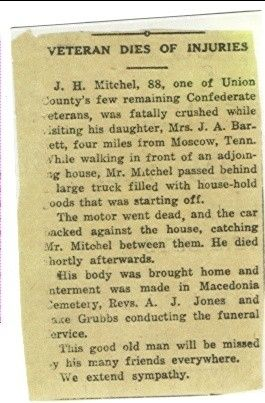 James Henry Mitchell obit