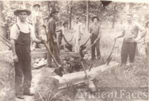 Railroad tie cutting