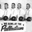 Family Bowling Team 1957