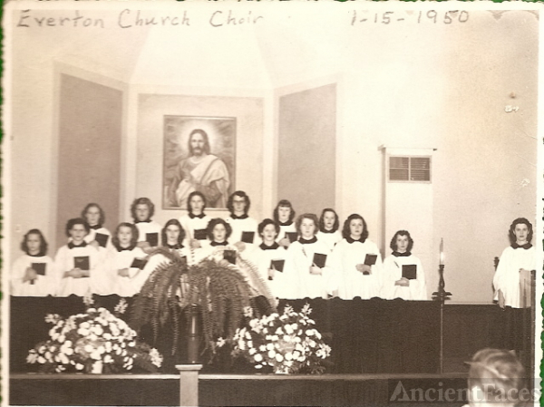 Everton Methodist Church Choir - Connersville Indiana