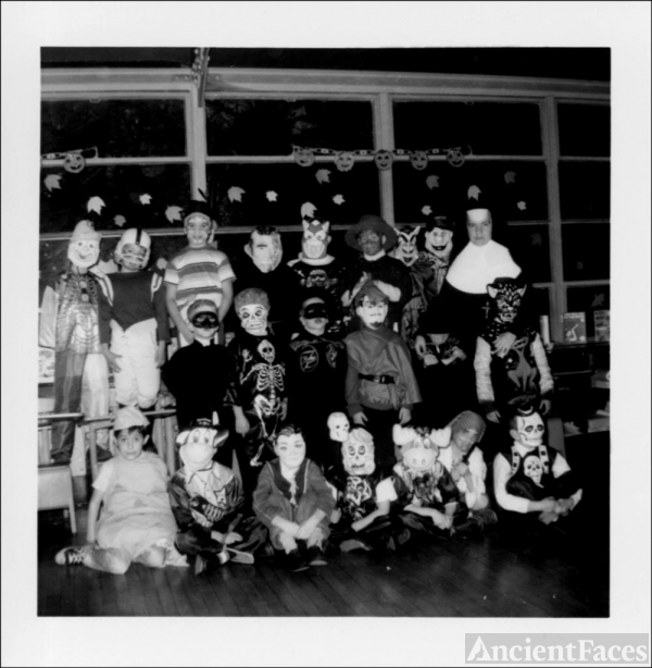 1950's Halloween Classroom Party