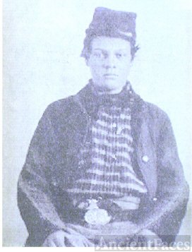 Private Zenas Frost, Company A, 129th Ohio Volunteer Infantry