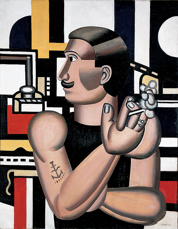 Fernand Léger, The Mechanic, 1920, Oil on canvas, National Gallery of Canada, Ottawa © 2006 Artists Rights Society (ARS), New York / ADAGP, Paris