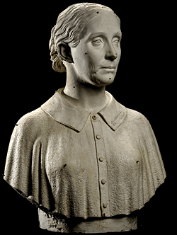 Fig. 3: Alma Hammond L'Hommedieu (1813-1890). Modeled 1871. Original plaster and working model. H. 23-7/8, W. 18-3/8, D. 10-3/8 in. Smithsonian American Art Museum, Washington, D.C. Museum purchase in memory of Ralph Cross Johnson, 1968.155.38.