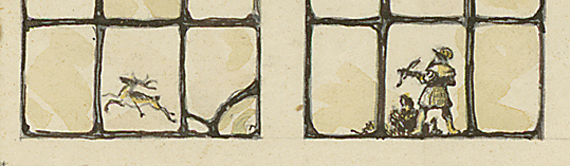 Fig. 4d: Drawings of windows for Theodore Swann house, designed by Warren Knight and Davis in 1927 and built in Birmingham, Alabama, nearly two decades after the Gilmore, Van Camp, and Jones houses. Courtesy and photography, The Athenaeum of Philadelphia.