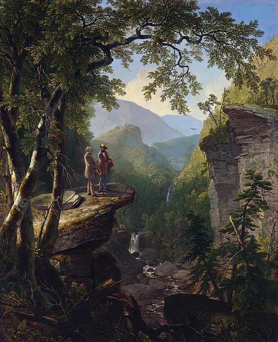 Fig. 4: Asher Brown Durand (1796–1886) Kindred Spirits, 1849 Oil on canvas, 44 x 36 inches Photography by The Metropolitan Museum of Art