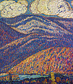 Marsden Hartley. Hall of the Mountain King, ca. 1908–1909. Oil on canvas, 30 x 30 inches. Photography by Amon Carter Museum of American Art