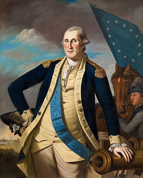 Fig. 2: Charles Willson Peale (1741–1827) George Washington, ca. 1780–1782 Oil on canvas, 50 x 40 inches Photography by Amon Carter Museum of American Art