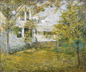 Fig. 5: John Henry Twachtman (1853–1902) September Sunshine, ca. 1891–1893 Oil on canvas, 25 x 30 inches