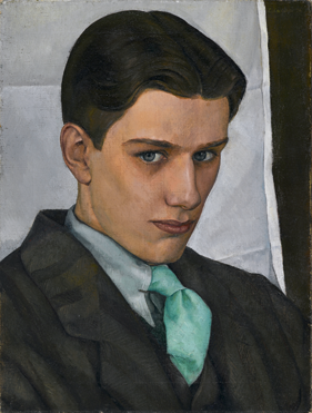 Fig. 9: Luigi Lucioni (American, 1900–1988) Paul Cadmus, 1928. Oil on canvas, 16 x 12-1/8 in. Brooklyn Museum, Dick S. Ramsay Fund (2007.28).