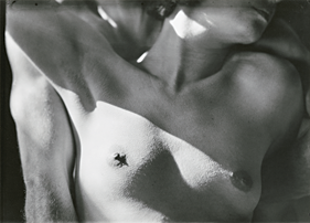 Fig. 3: Imogen Cunningham (American, 1883–1976) Nude, 1923 Gelatin silver print, 6-15/16 x 9-1/2 in. Center for Creative Photography, University of Arizona, Tucson, Purchase © (1923), 2010 The Imogen Cunningham Trust, www.ImogenCunningham.com.