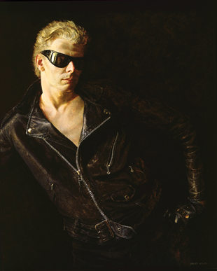 Fig. 3: Jamie Wyeth (b. 1946) Draft Age, 1965 Oil on canvas, 36 x 30 inches Collection of the Brandywine River Museum, Purchase made possible by Mr. and Mrs. Randy L. Christofferson, Mr. and Mrs. George Strawbridge, Jr., Mary Alice Dorrance Malone Foundation, Margaret Dorrance Strawbridge Foundation of PA I, Inc., The William Stamps Farish Fund, Mr. and Mrs. James W. Stewart, III, and MBNA America, 1999.