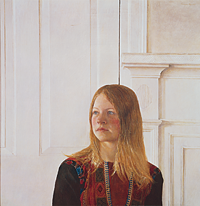 Fig. 2: Andrew Wyeth (1917–2009) Siri, 1970 Tempera on panel, 30 x 30-1/2 inches Collection of Brandywine River Museum, purchased for the museum by John T. Dorrance, Jr., Mr. and Mrs. Felix du Pont, Mr. and Mrs. James P. Mills, Mr. and Mrs. Bayard Sharp, two anonymous donors, and The Pew Memorial Trust, 1975.