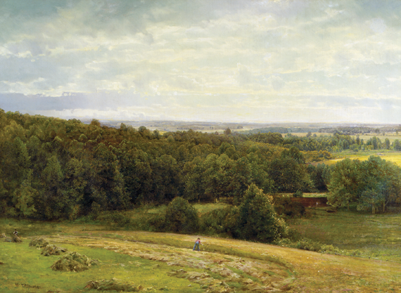 Fig. 6: William Trost Richards (1833–1905) The Valley of the Brandywine, Chester County (September), 1886-87 Oil on canvas, 39-3/4 x 55-1/8 inches Collection of the Brandywine River Museum.
