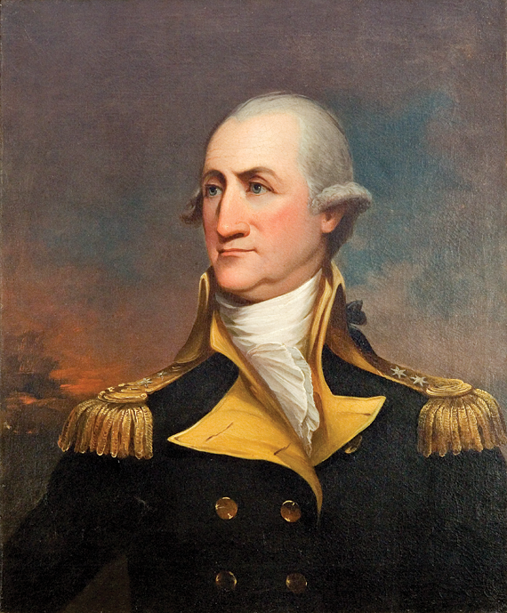 Fig. 9: After John Trumbull (1756–1843), Portrait of Peter Muhlenberg (1746–1807), ca. 1800–1825.  Oil on canvas. 30-1/4 x 25 inches. Collection of Brian and Barbara Hendelson.