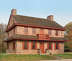 Fig. 6: House of Henry and Mary Muhlenberg from 1776 to 1787, then Peter Muhlenberg from 1787 to 1802. Courtesy, Historical Society of Trappe, Collegeville, Perkiomen Valley, Inc.