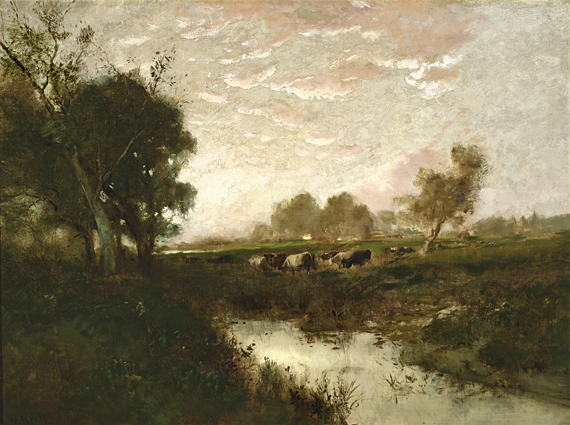 Fig. 3: William Keith (1838–1911), Dazzling Clouds, ca. 1890. Oil on canvas, 30 x 39-3/4 inches. Saint Mary's College, Moraga, Calif., gift of Ina Brackenbury.