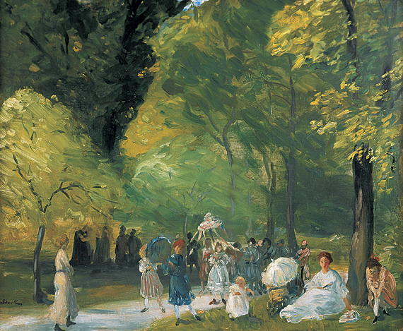 Fig. 11: William Glackens (1870–1938) Little May Day Procession, 1905 Oil on canvas, 25 x 30 inches From the collection of a Dartmouth parent