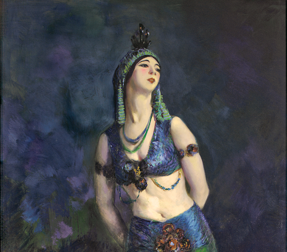 Robert Henri (1865–1929) Ruth St. Denis in the Peacock Dance, 1919 Oil on canvas, 85 x 49 inches Gift of the Sameric Corporation in memory of Eric Shapiro (1976.1)