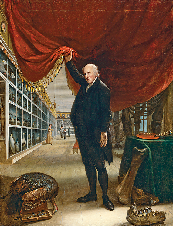Charles Willson Peale (1756–1833) The Artist in His Museum, 1822 Oil on canvas, 103-3/4 x 79-7-8 inches Gift of Mrs. Sarah Harrison (The Joseph Harrison, Jr. Collection) (1878.1.2)