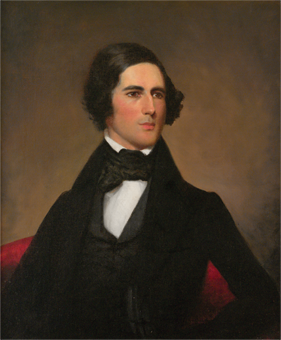 Fig. 11: James DeVeaux (1812–1844), John Laurence Manning, 1838. Oil on canvas, 30-1/2 x 25-1/2 inches. Courtesy, Classical American Homes Preservation Trust.