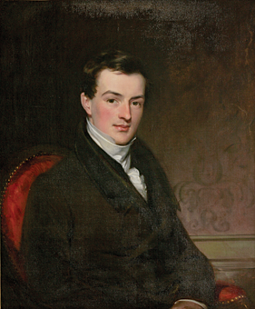 Fig. 3: Charles R. Leslie (1794–1859), Robert Donaldson, 1820. Oil on canvas, 30-1/2 x 25-1/2 inches. Courtesy, Richard Hampton Jenrette.