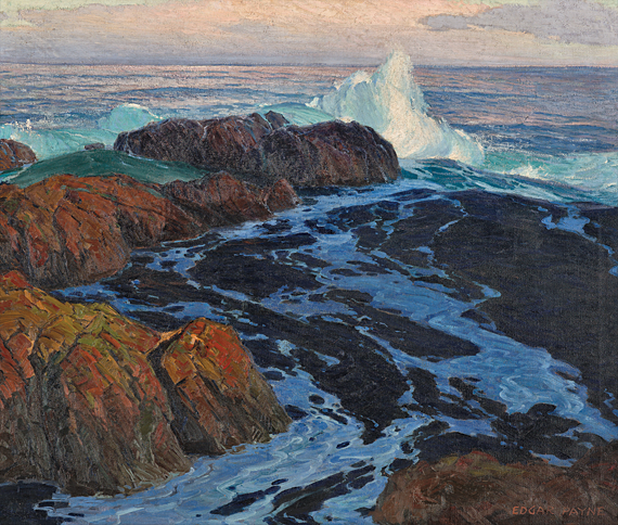 Fig. 9: Edgar Alwin Payne (1883–1947) Restless Sea, 1917 Oil on canvas, 43 x 51 inches Indianapolis Museum of Art Gift of Mrs. James Sweetser (17.66)